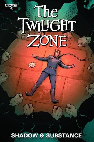 The Twilight Zone: Shadow & Substance #3 Vilanova Cover)
