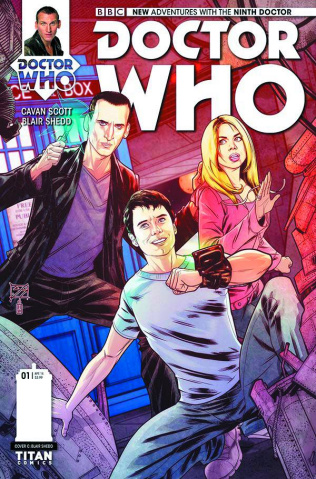 Doctor Who: New Adventures with the Ninth Doctor #1 (10 Copy Shedd Cover)