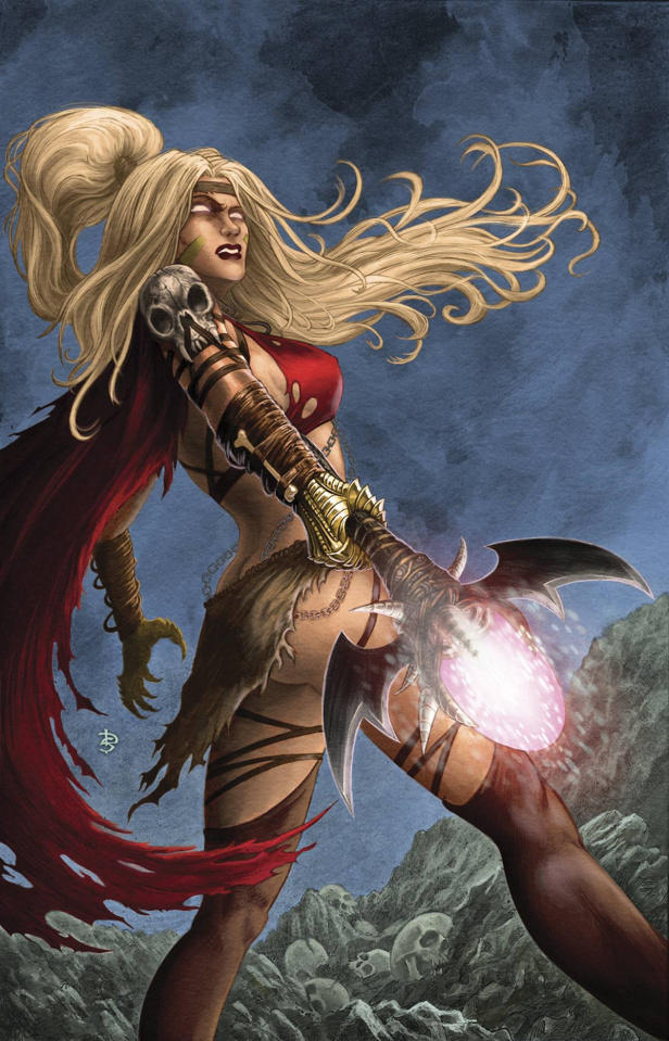 Grimm Fairy Tales: The Coven #4 (Sirois Cover)