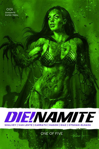 DIE!namite #1 (13 Copy Parillo Dressed Bloody Red Tint Cover)