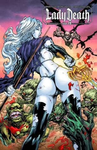 Lady Death #19 (Surrounded Cover)
