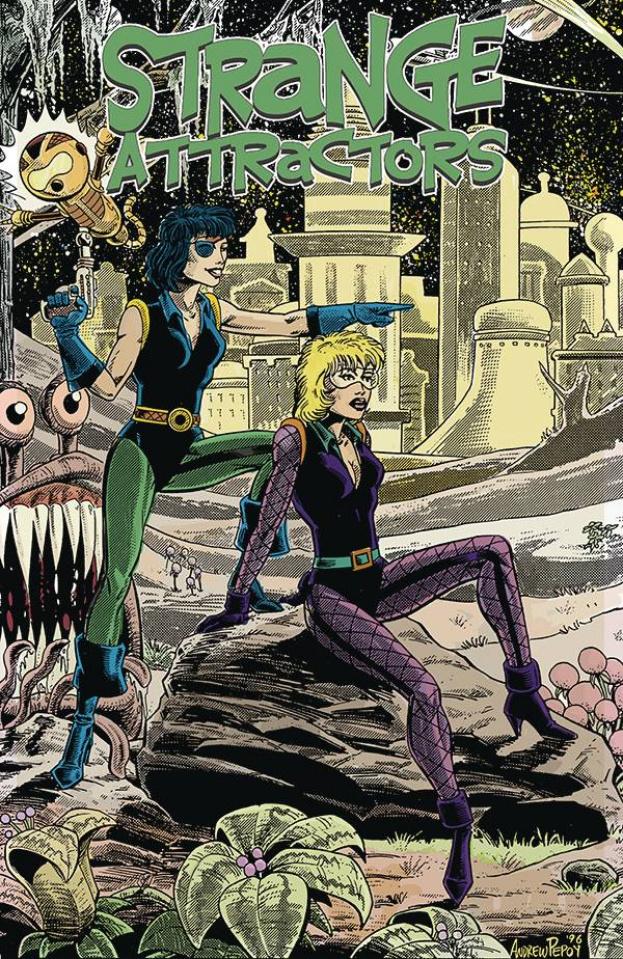 Strange Attractors #4 (Andrew Pepoy Cover)