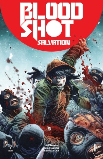 Bloodshot: Salvation #1 (Battle Damaged Giorello Cover)