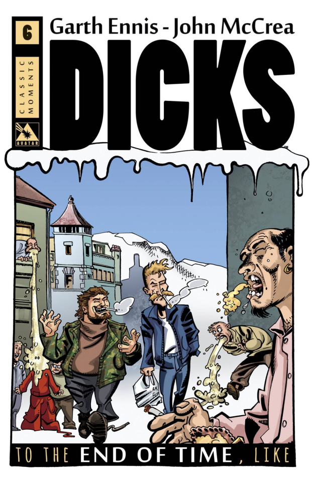 Dicks: To the End of Time, Like #6 (Classic Moment Retailer Cover)