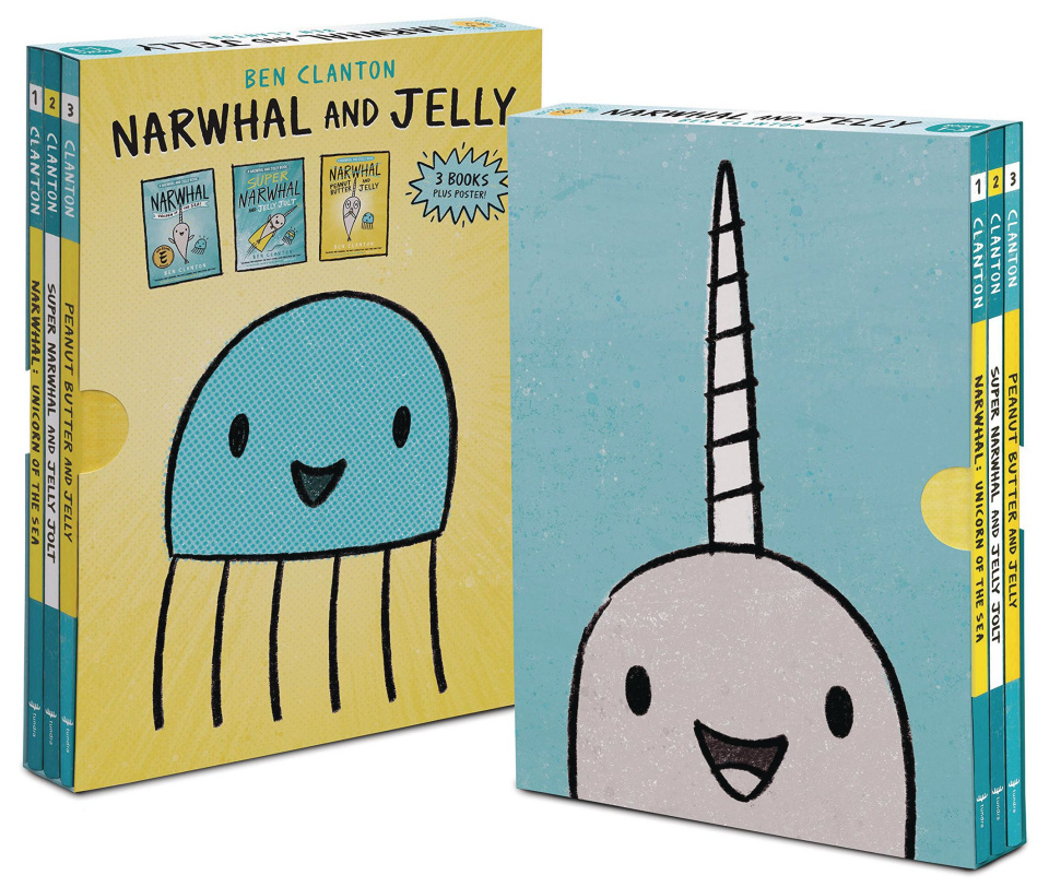 Narwhal & Jelly (Boxed Set)