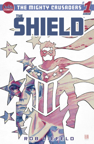 Mighty Crusaders: The Shield (David Mack Cover)