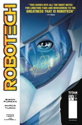 Robotech #9 (Quijada Cover)
