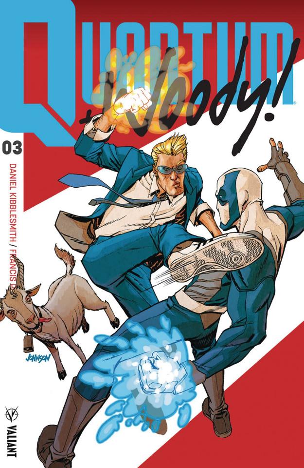 Quantum & Woody #3 (50 Copy Johnson Cover)