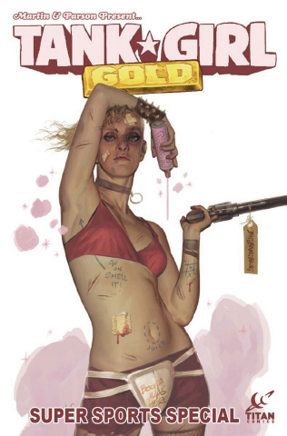 Tank Girl: Gold #2 (Black Frog Cover)