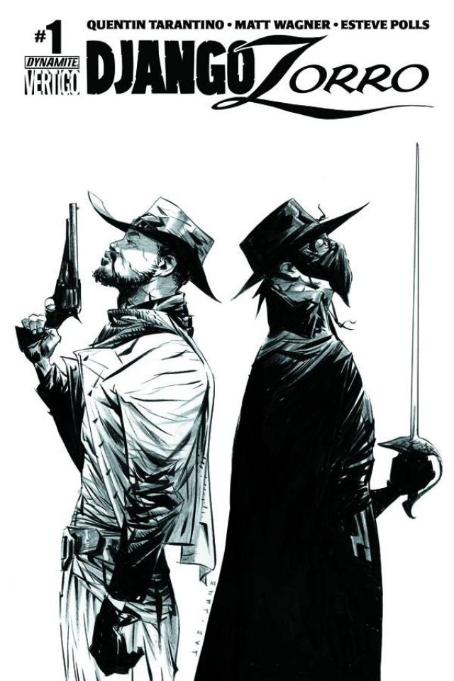 Django / Zorro #1 (50 Copy Cover)