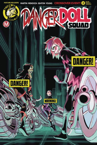 Danger Doll Squad #2 (Winston Young Risque Cover)