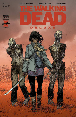 The Walking Dead Deluxe #19 (Moore & McCaig Cover)