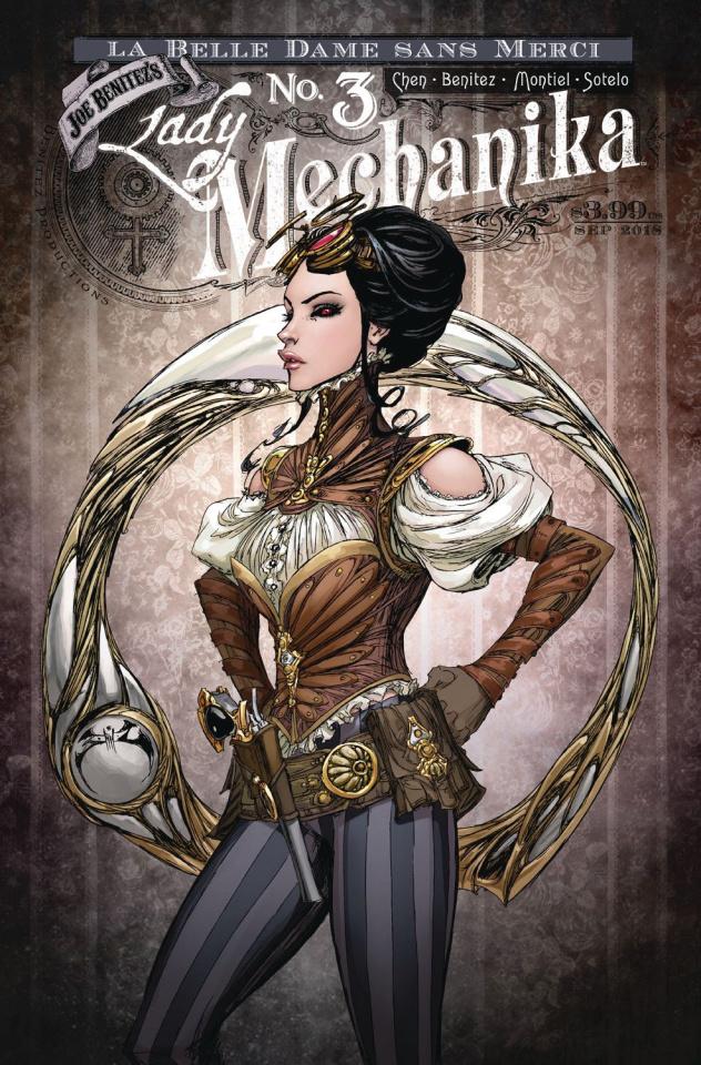 Lady Mechanika: Dame Sans Merci #3