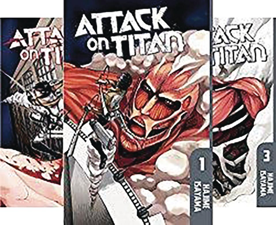 Attack On Titan, Season One Box Set (Part 1)