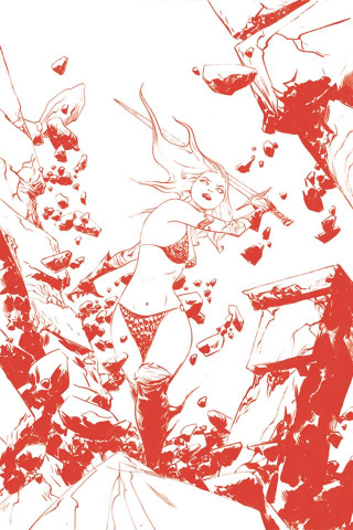 Red Sonja #17 (35 Copy Lee Tint Virgin Cover)