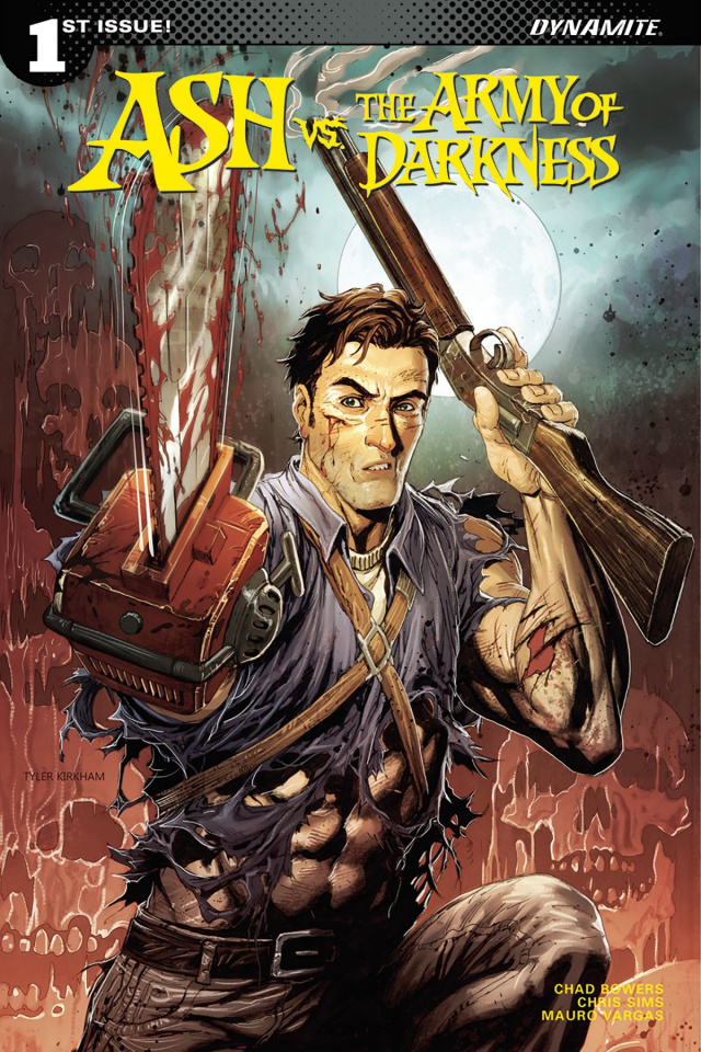 Ash vs. The Army of Darkness #1 (Kirkham Cover)