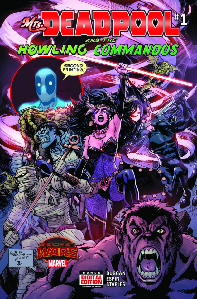 Mrs. Deadpool and the Howling Commandos #1 (Brown 2nd Printing)