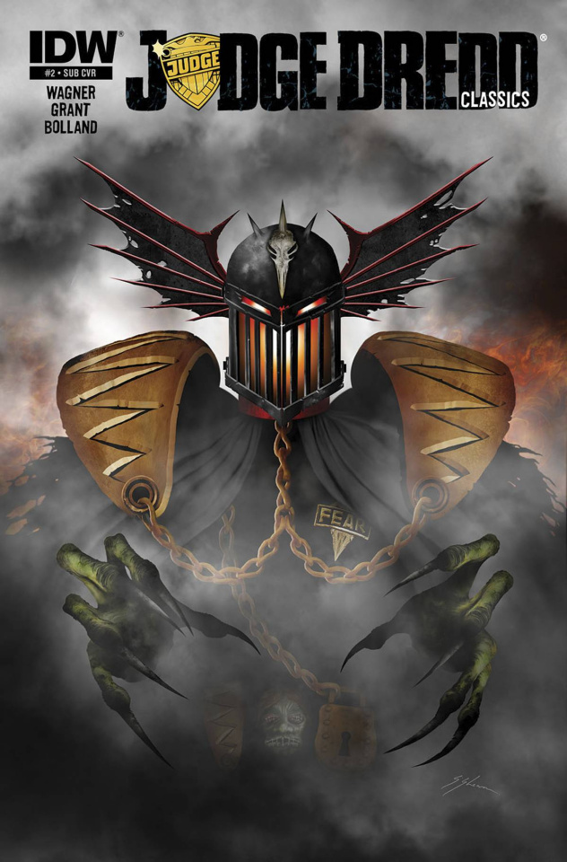 Judge Dredd Classics: The Dark Judges #2 (Subscription Cover)
