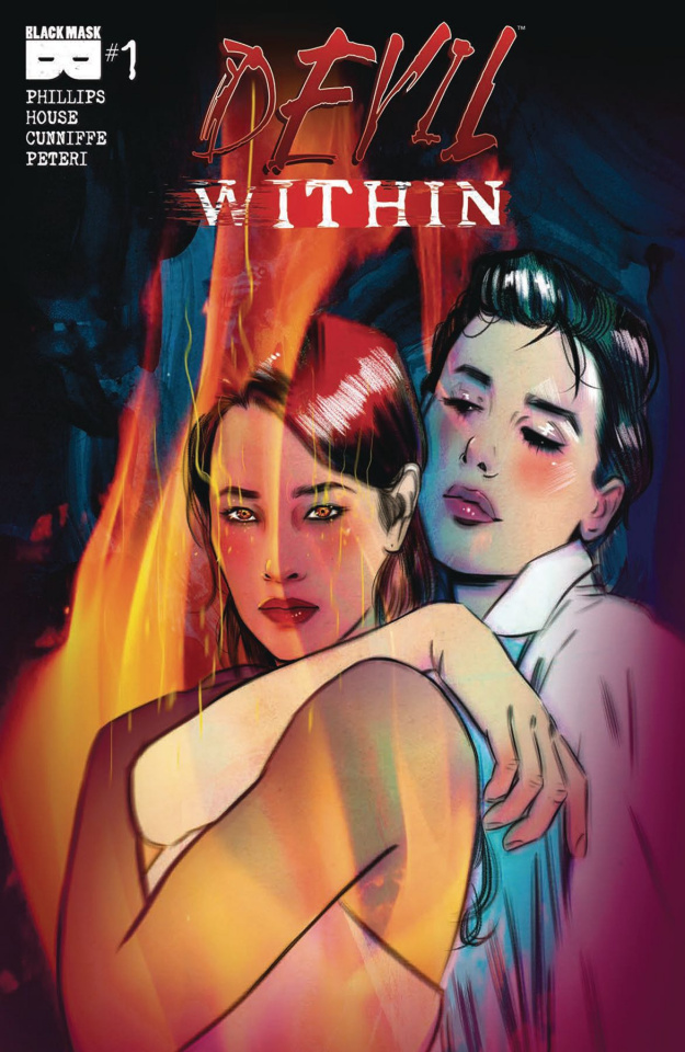 The Devil Within #1 (Lotay 2nd Printing)
