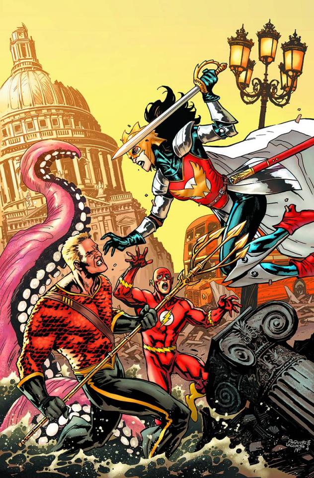 Multiversity: Mastermen #1 (Paquette Cover)