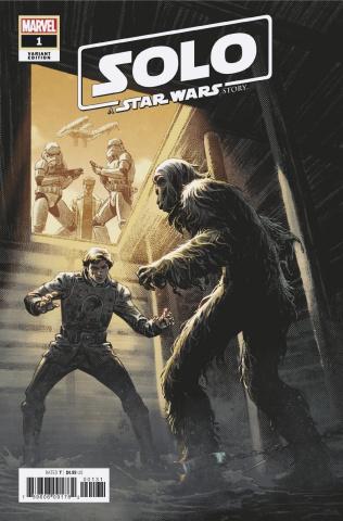 Star Wars: Solo #1 (Luke Ross Cover)