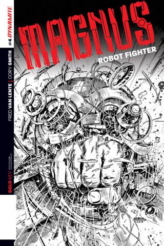 Magnus, Robot Fighter #4 (2nd Printing)
