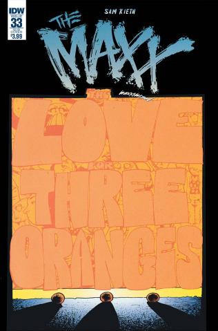 The Maxx: Maxximized #33 (Subscription Cover)