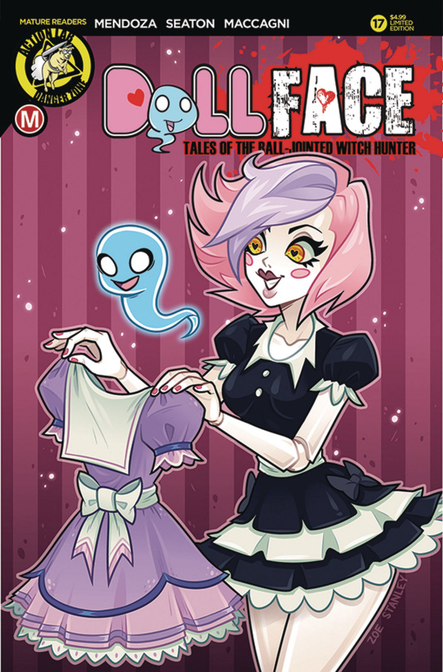 Dollface #17 (Stanley Pin-Up Cover)