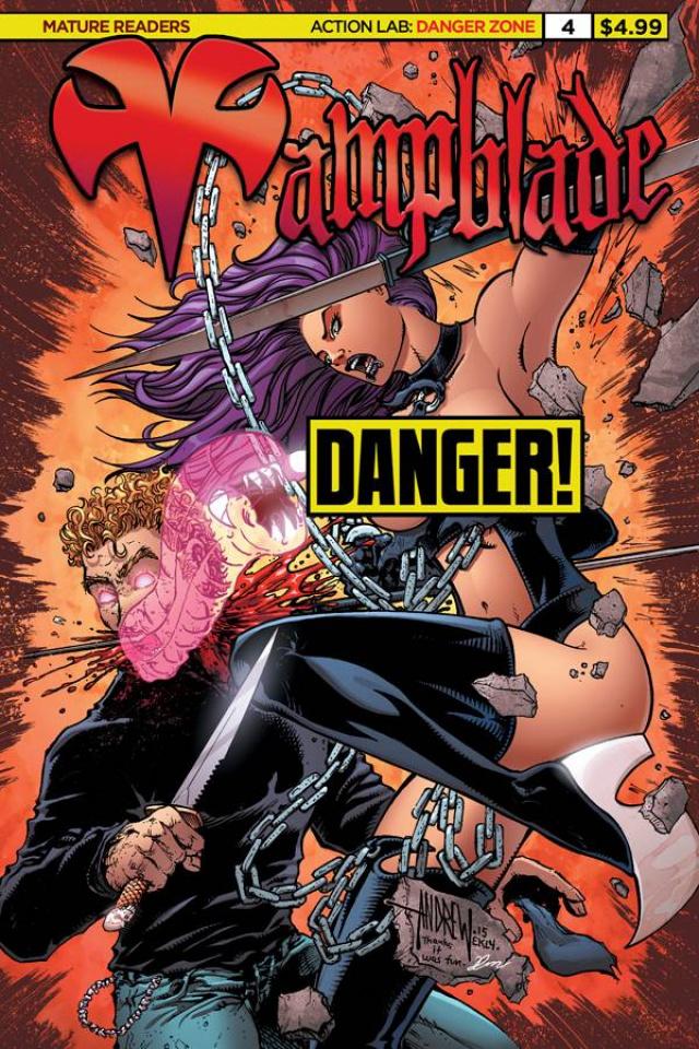 Vampblade #4 (Cheesecake Risque Cover)