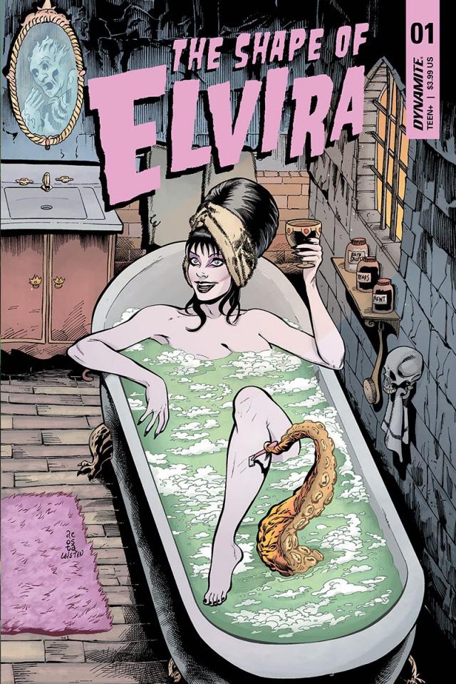The Shape of Elvira #1 (Acosta Cover)