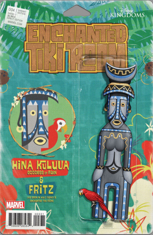 Enchanted Tiki Room #4 (Christopher Action Figure Cover)