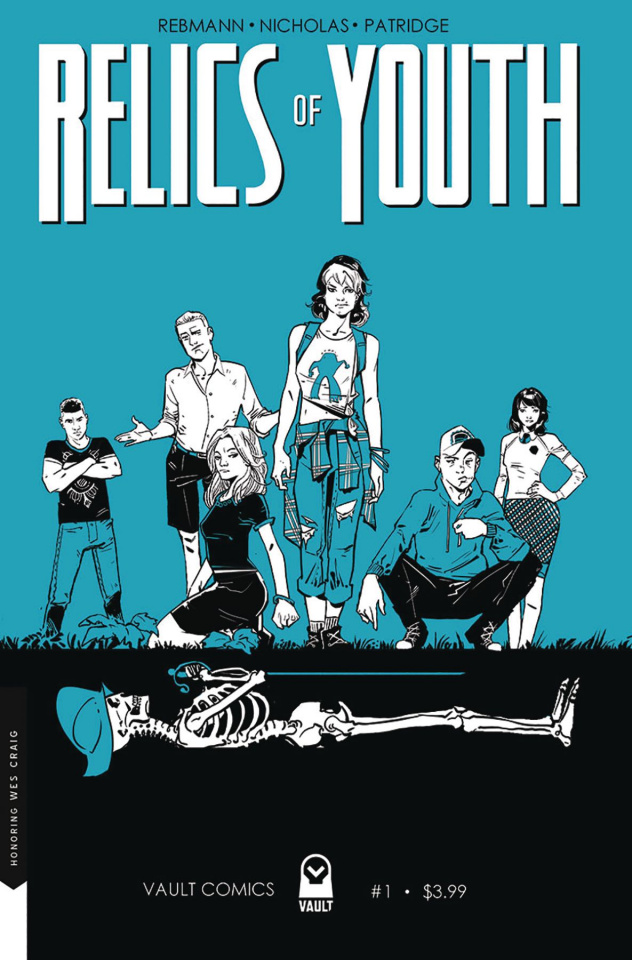 Relics of Youth #1 (Cover B)