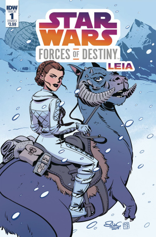 Star Wars Adventures: Forces of Destiny - Leia