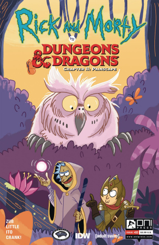 Rick and Morty vs. Dungeons & Dragons II: Painscape #3 (Allant Cover)