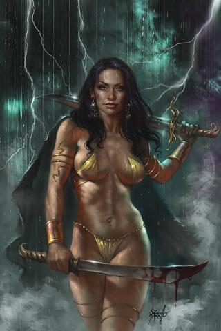 Dejah Thoris #5 (Parrillo Virgin Cover)