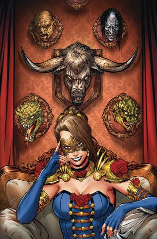 Belle: Beast Hunter #1 (Riviero Cover)