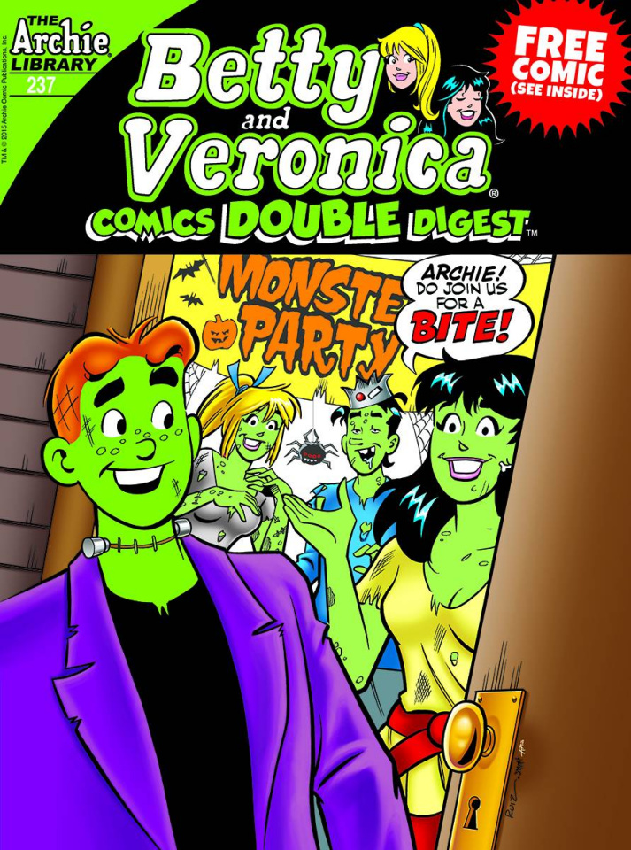 Betty & Veronica Double Comics Digest #237