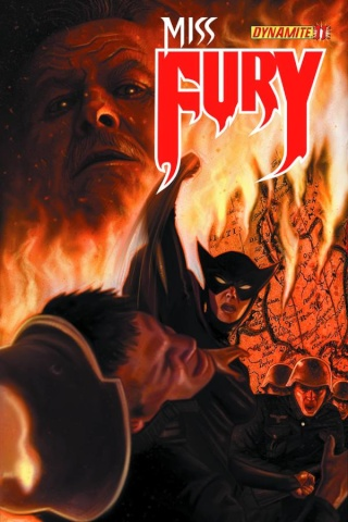 Miss Fury #11 (Worley Cover)