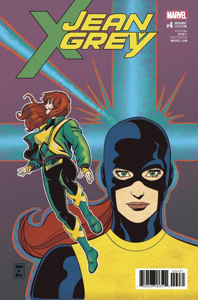 Jean Grey #4 (X-Men By Brigman Cover)