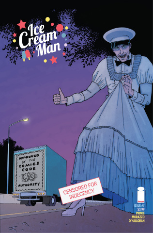 Ice Cream Man #7 (CBLDF Charity Censored Cover)