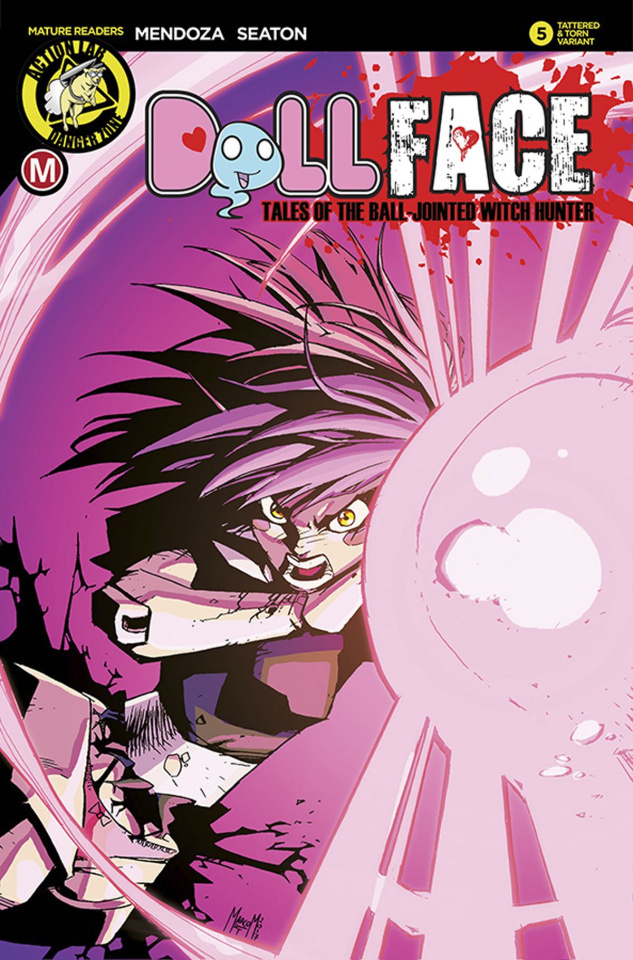 Dollface #6 (Maccagni Pin Up Tattered & Torn Cover)