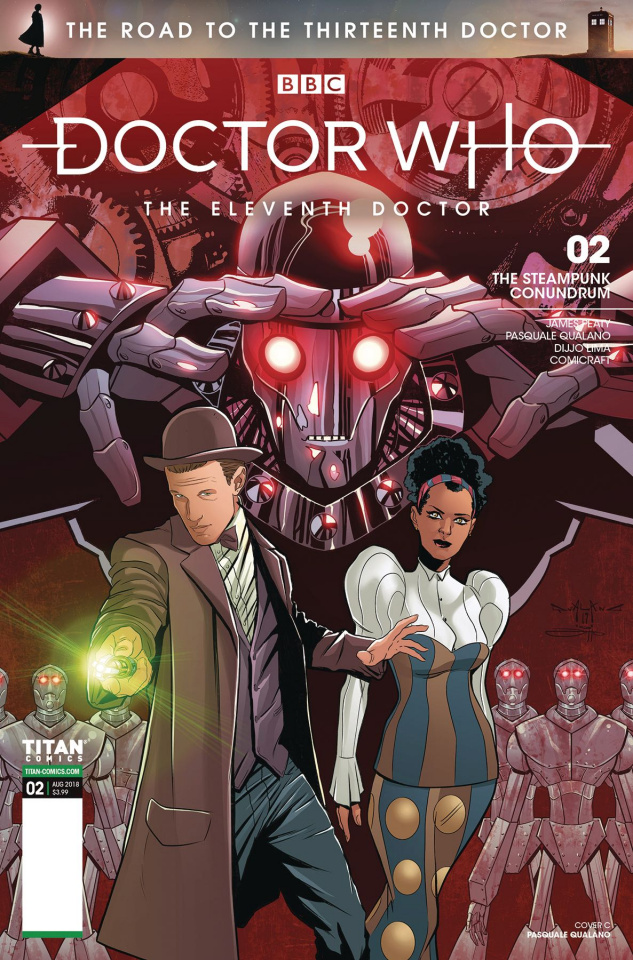Doctor Who: The Road to the Thirteenth Doctor #2 (Qaulano 11th Cover)