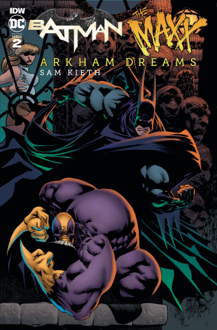 Batman / The Maxx: Arkham Dreams #2 (10 Copy Jones Cover)