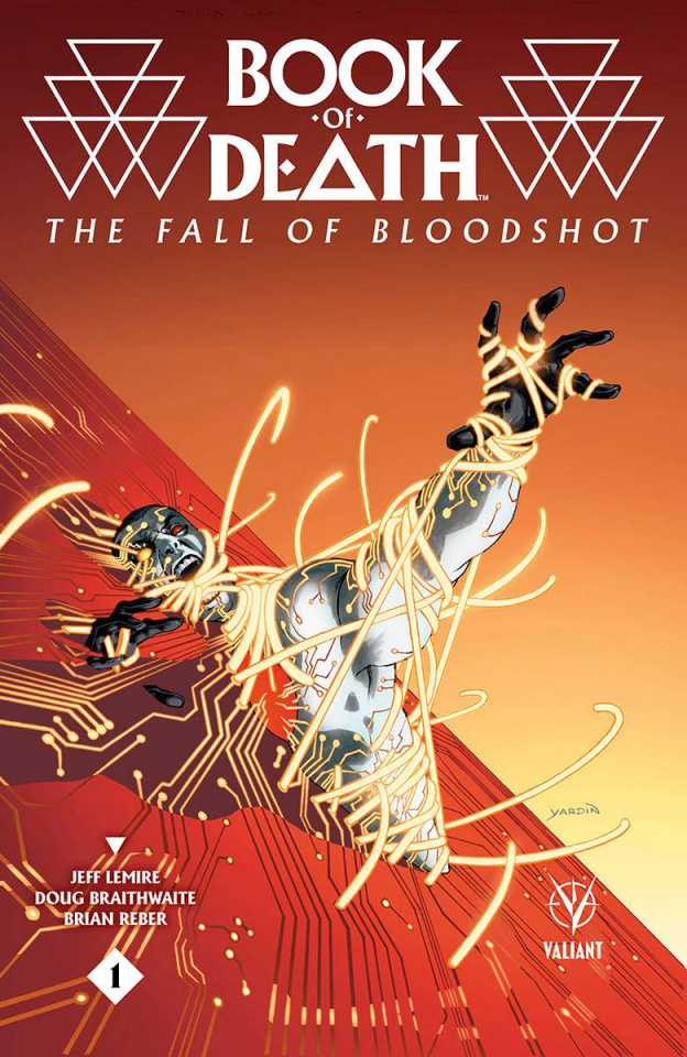 Book of Death: The Fall of Bloodshot #1 (10 Copy Yardin Cover)