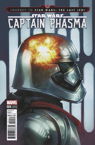 Journey to Star Wars: The Last Jedi - Captain Phasma #4 (Reis Cover)