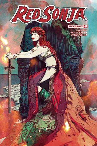 Red Sonja #17 (Lotay Cover)