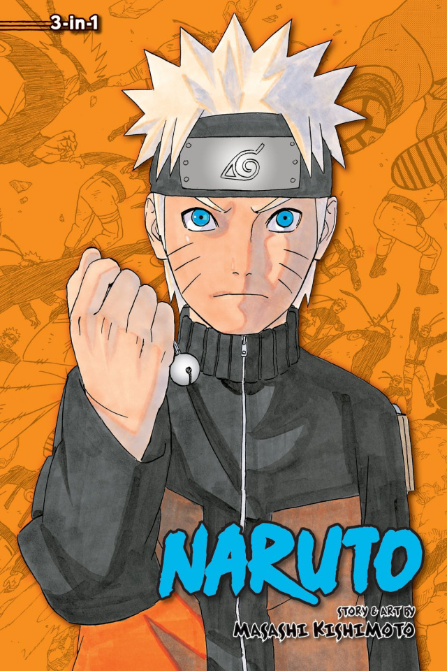 Naruto Vol. 16 (3-in-1 Edition)