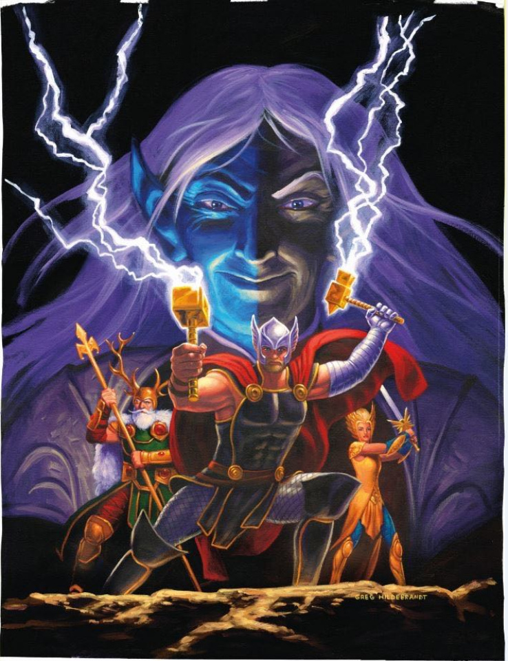 The War of the Realms #4 (Hildebrandt Cover)