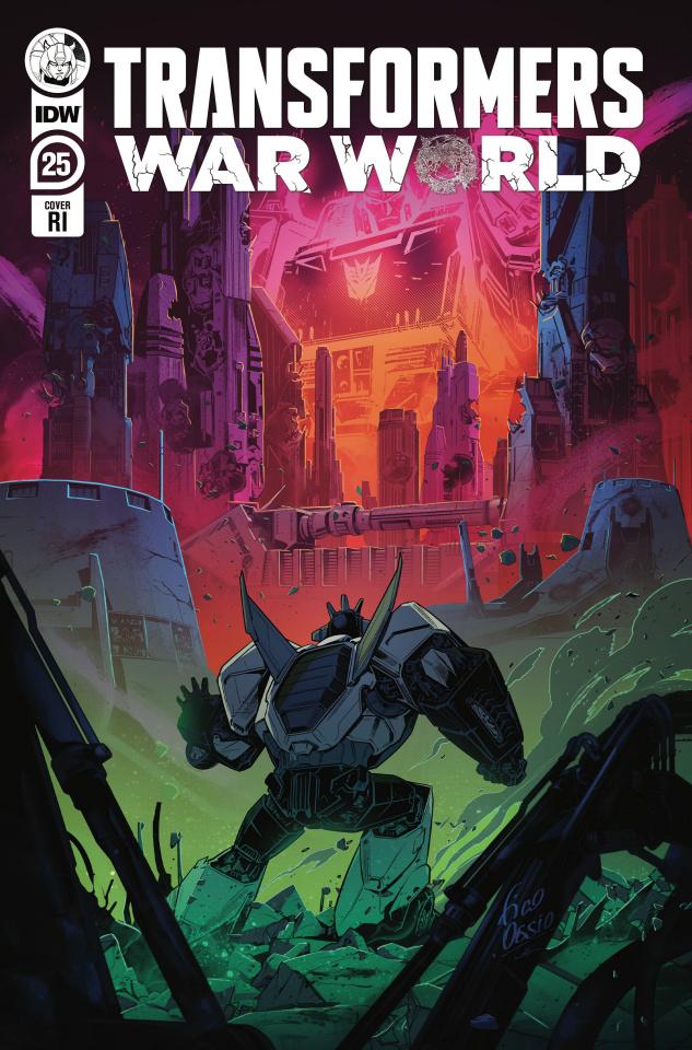 The Transformers #25 (10 Copy Ossio Cover)