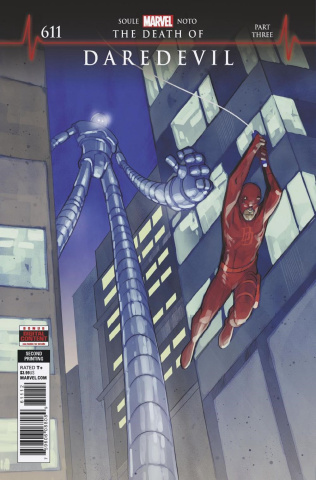 Daredevil #611 (Noto 2nd Printing)